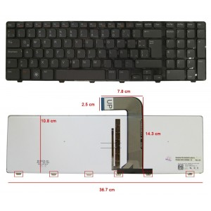 Teclado Notebook Dell Inspiron 17r N7010