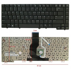 Teclado HP Elitebook 6930 6930P
